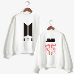 BTS 'Floweristic' Members Sweater White The KPOP Dept. - KPOP AIR