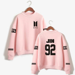 BTS 'Casual' Members Sweater Pink The KPOP Dept. - KPOP AIR