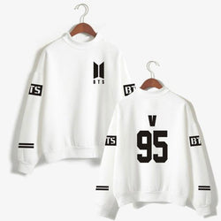BTS 'Casual' Members Sweater White The KPOP Dept. - KPOP AIR