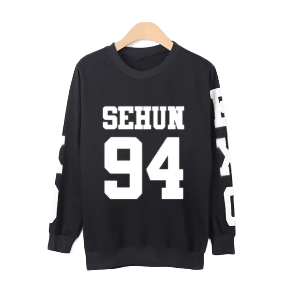 New EXO 'Number' Sweater thekpopdept - KPOP AIR