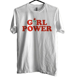 Girl Power T-Shirt White thekpopdept - KPOP AIR