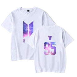 BTS 'GALAXY' T-Shirt White The KPOP Dept. - KPOP AIR