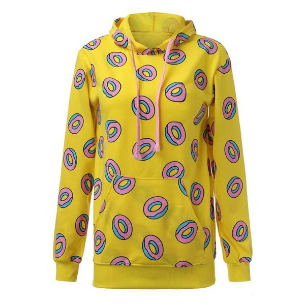 All Over Print 'Donut' Hoodie thekpopdept - KPOP AIR