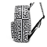 BIGBANG 'Black White' Backpack thekpopdept - KPOP AIR