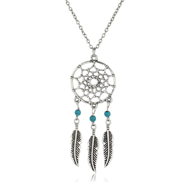 Dreamcatcher 'Retro' Necklace thekpopdept - KPOP AIR