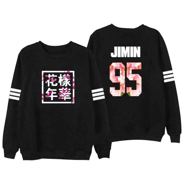BTS 'HYYH' Sweater Black thekpopdept - KPOP AIR