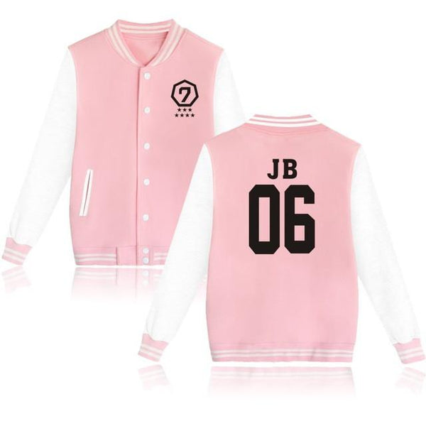 GOT7 'Agase' Varsity Pink The KPOP Dept. - KPOP AIR