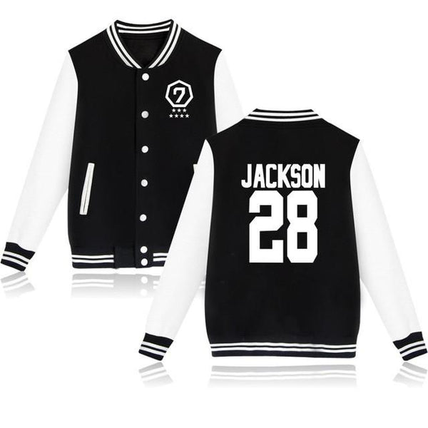 GOT7 'Agase' Varsity Black The KPOP Dept. - KPOP AIR