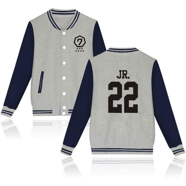 GOT7 'Agase' Varsity Grey The KPOP Dept. - KPOP AIR