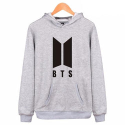 BTS 'New ARMY' Hoodie Grey The KPOP Dept. - KPOP AIR