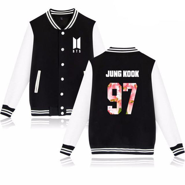 BTS 'New ARMY' Varsity Black The KPOP Dept. - KPOP AIR
