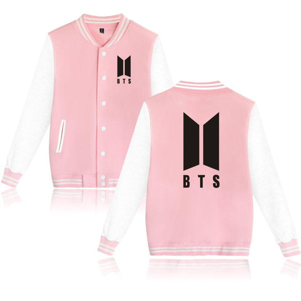 BTS 'New ARMY' Varsity Pink The KPOP Dept. - KPOP AIR
