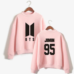 BTS 'Members' Casual Sweater Pink The KPOP Dept. - KPOP AIR