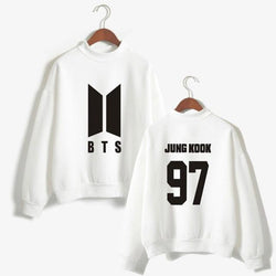 BTS 'Members' Casual Sweater White The KPOP Dept. - KPOP AIR
