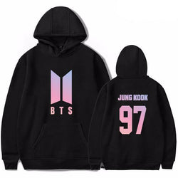 BTS 'Aesthetic' Hoodie Black The KPOP Dept. - KPOP AIR