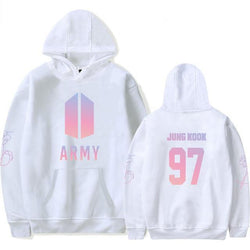 BTS 'Love Yourself: ARMY' Hoodie White The KPOP Dept. - KPOP AIR