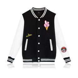 BTS 'BT21 Character' Varsity The KPOP Dept. - KPOP AIR