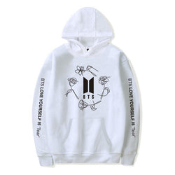 BTS 'Love Yourself: TEAR' Hoodie White The KPOP Dept. - KPOP AIR