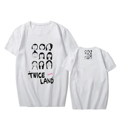 "TWICE ""TWICELAND"" T-SHIRT WHITE"