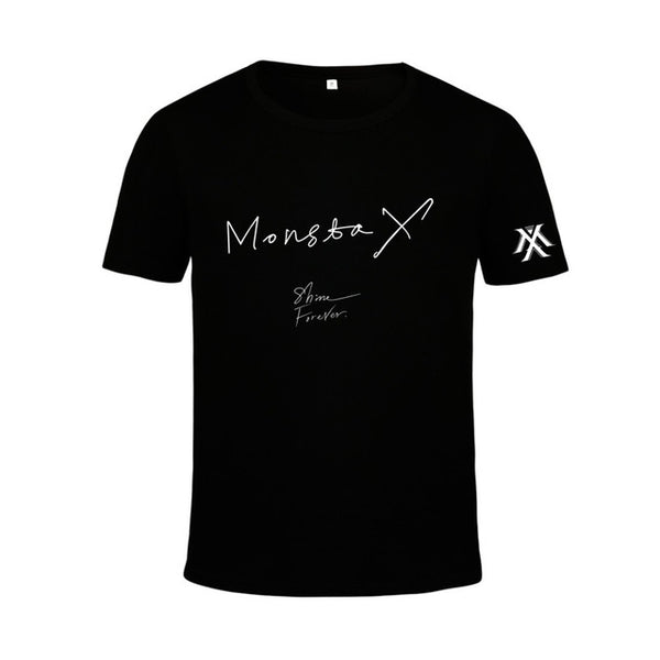 "MONSTA X ""SHINE FOREVER"" T-SHIRT"