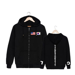 "2NE1 ""CL NEW"" ZIPPER HOODIES"