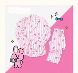BTS COOKY BT21 PAJAMAS