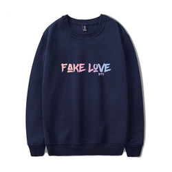 "BTS ""FAKE LOVE"" CASUAL SWEATER"