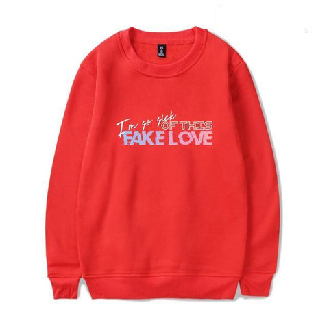 "BTS ""FAKE LOVE"" AESTHETIC SWEATER"