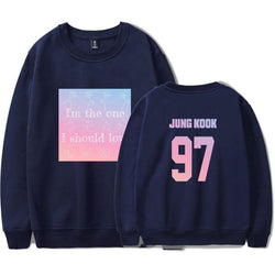 "BTS ""LOVE YOURSELF: ANSWER"" JUNG KOOK SWEATER"