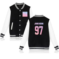 "BTS ""LOVE YOURSELF: ANSWER"" JUNG KOOK BASEBALL JACKET"