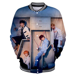 "BTS ""LOVE YOURSELF: ANSWER"" BASEBALL JACKET"