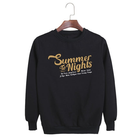 "TWICE ""DANCE THE NIGHT AWAY"" SWEATER"