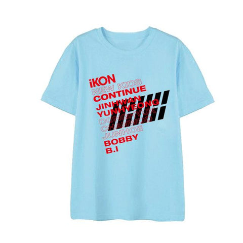 "IKON ""NEW KIDS CONTINUE"" 2 T-SHIRT"