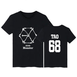 "EXO ""MONSTER"" T-SHIRT BLACK"