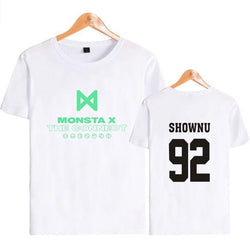 "MONSTA X ""THE CONNECT"" T-SHIRT WHITE"