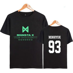 "MONSTA X ""THE CONNECT"" T-SHIRT BLACK"