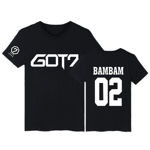 "GOT7 ""LOGO"" T-SHIRT BLACK"