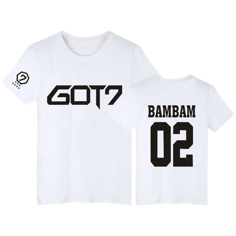 "GOT7 ""LOGO"" T-SHIRT WHITE"