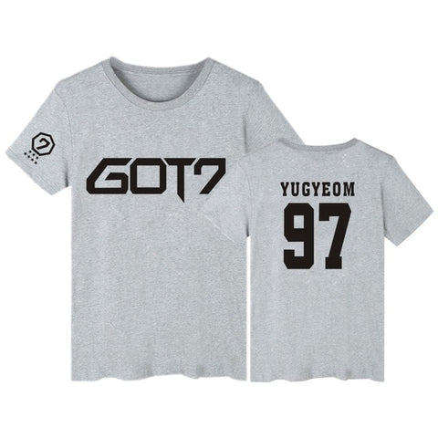 "GOT7 ""LOGO"" T-SHIRT GRAY"