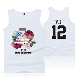 "BIGBANG ""FLOWER ROAD"" TANK TOP WHITE"