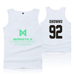 "MONSTA X ""THE CONNECT"" TANK TOP WHITE"