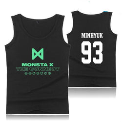 "MONSTA X ""THE CONNECT"" TANK TOP BLACK"