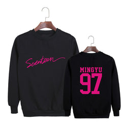 "SEVENTEEN ""NUMBER LOGO"" SWEATER"