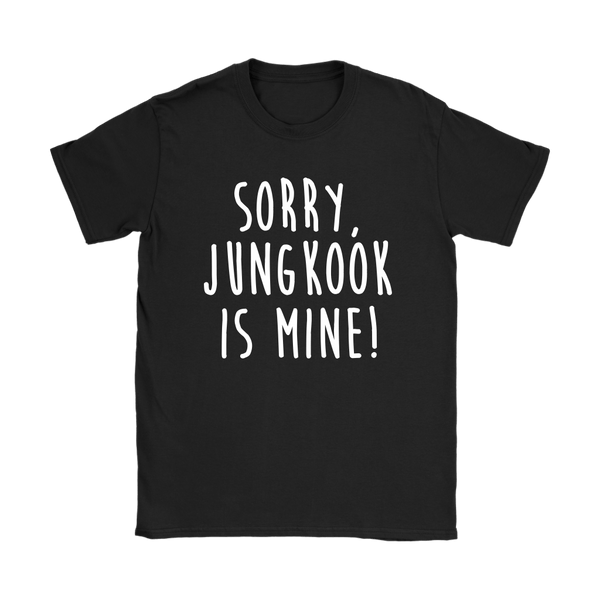 Jungkook is Mine Tee teelaunch - KPOP AIR