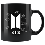 BTS Exclusive Signed Black Mug