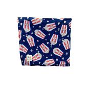 KOZI & CO SWADDLES FALL 2020 CIRCUS SINGLE-LINED 44x44 POPCORN
