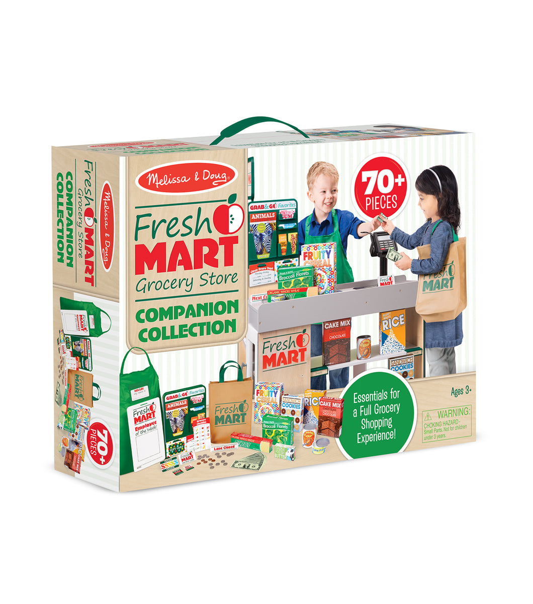 Melissa and Doug - Fresh Mart Grocery Store Companion Collection
