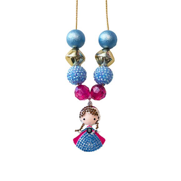 Five Loaves Two Fish Frozen Necklace - Anna