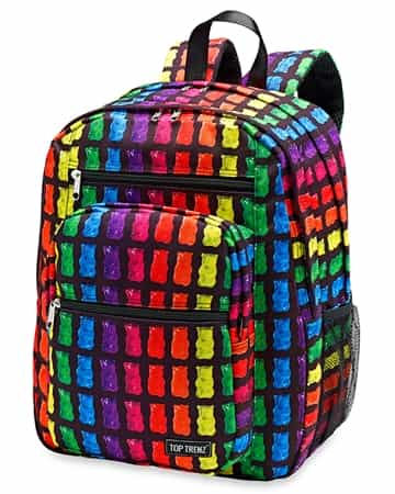 Top Trenz - Black Gummy Bear Scented Backpack