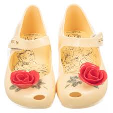 Mini Melissa Ultra Girl Beauty & The Beast - Yellow